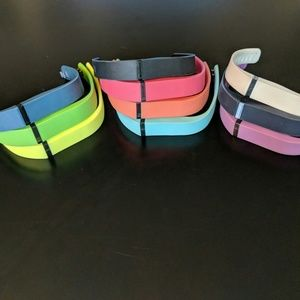 Jewelry - 10 Fitbit Flex Rubber Bands - Assorted Colors